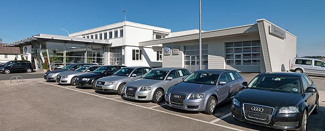 Günter Weilguny VW und Audi HändlerBahnhofstrasse 50A - 4950 Altheim Tel. 07723 / 424 90